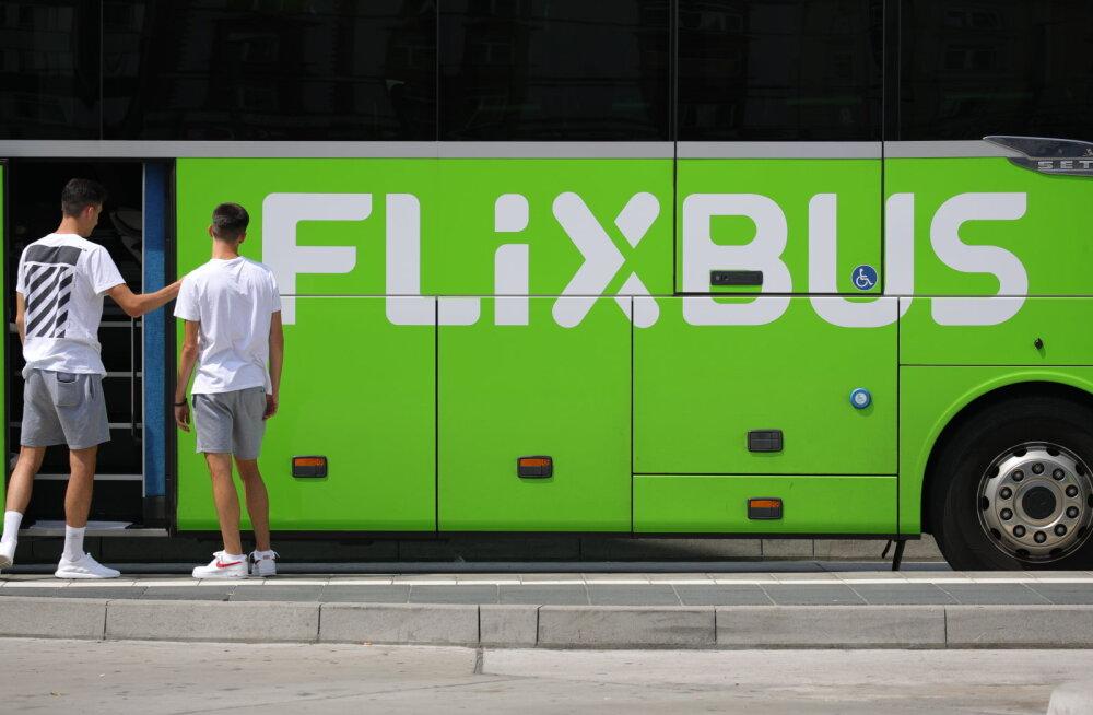 Сегодня в свой первый рейс из Таллинна в Варшаву отправится автобус Flixbus