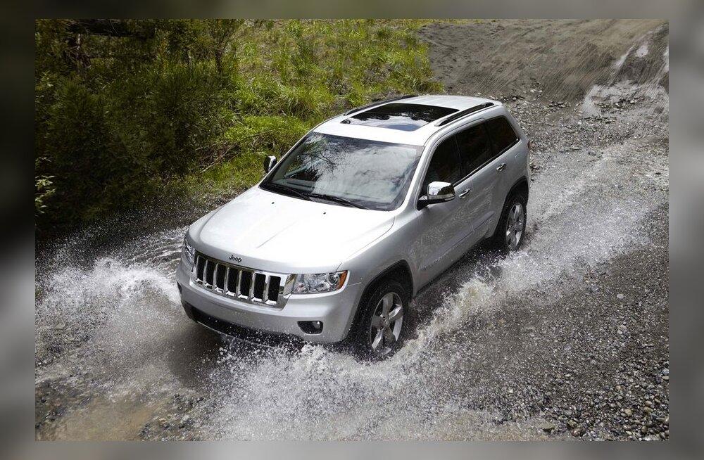 VIDEOD: Jeep põrus jälle rootslaste põdratestis