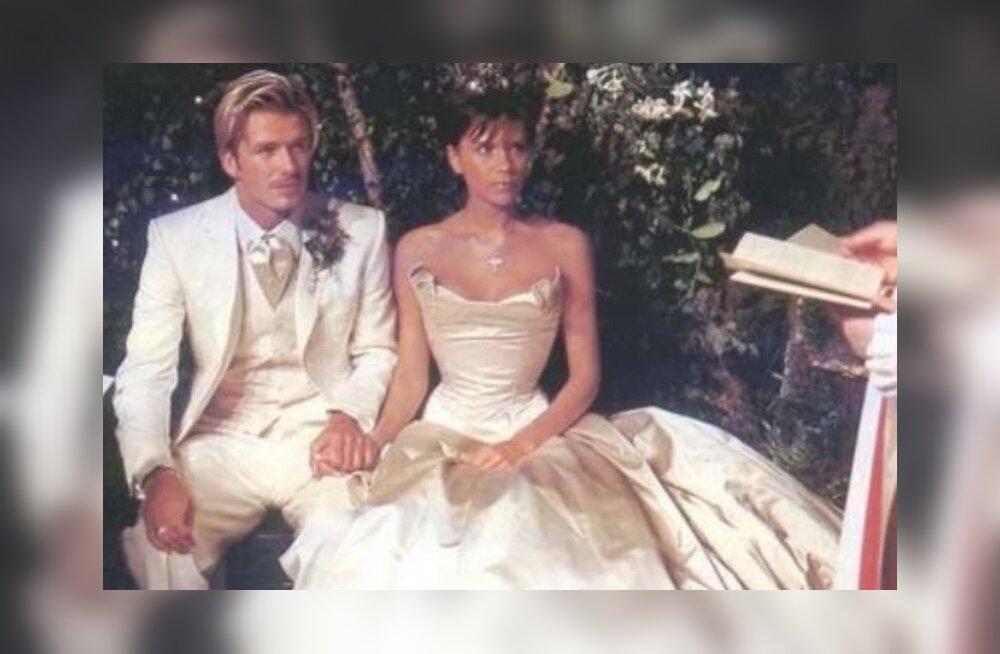 RETRO: Vaata, millised nägid välja Victoria ja David Beckham oma pulmapäeval 17 aastat tagasi!