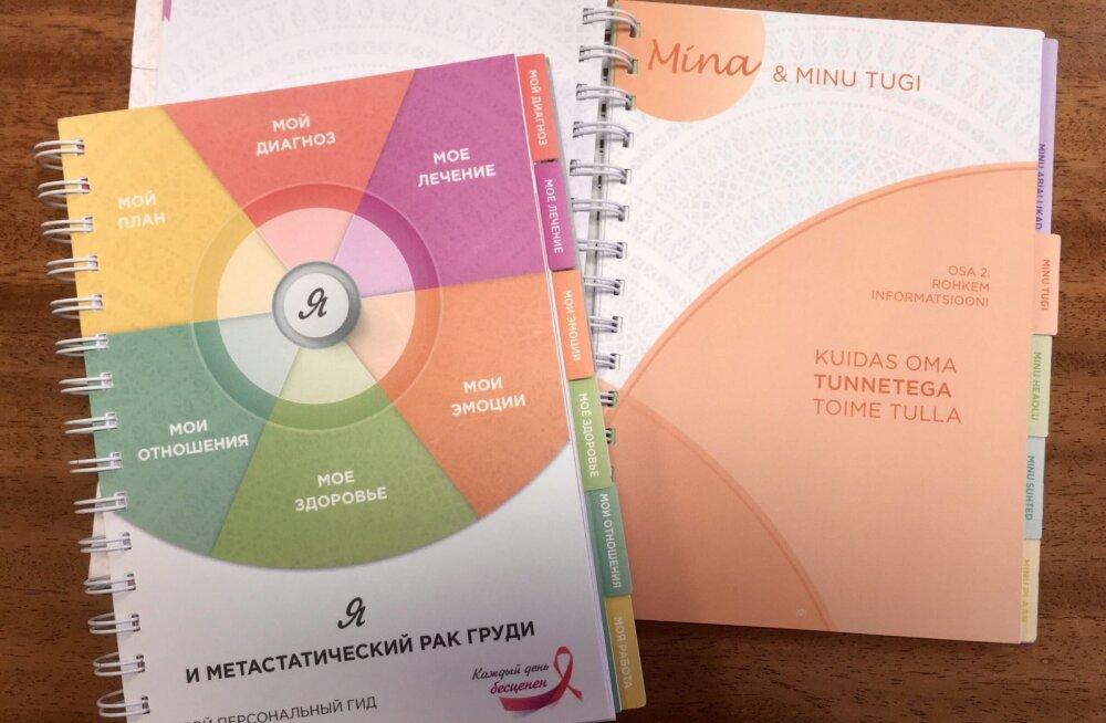 """""""Сегодня... просто дыши"""". В Эстонии пациентам с метастатическим раком груди будут выдавать персональную книгу-руководство"""