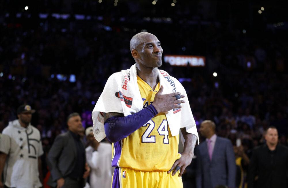 VIDEO | Täna neli aastat tagasi: Kobe Bryant lõpetas korvpallikarjääri uskumatu etteastega