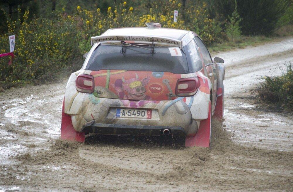 Karl Kruuda võitis Hispaania rallisarja etapi