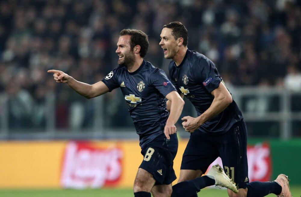 b3747670b6e BLOGI | UEFA Meistrite liiga: Manchester United võitis kaotusseisust Torino  Juventuse, Madridi Real ja