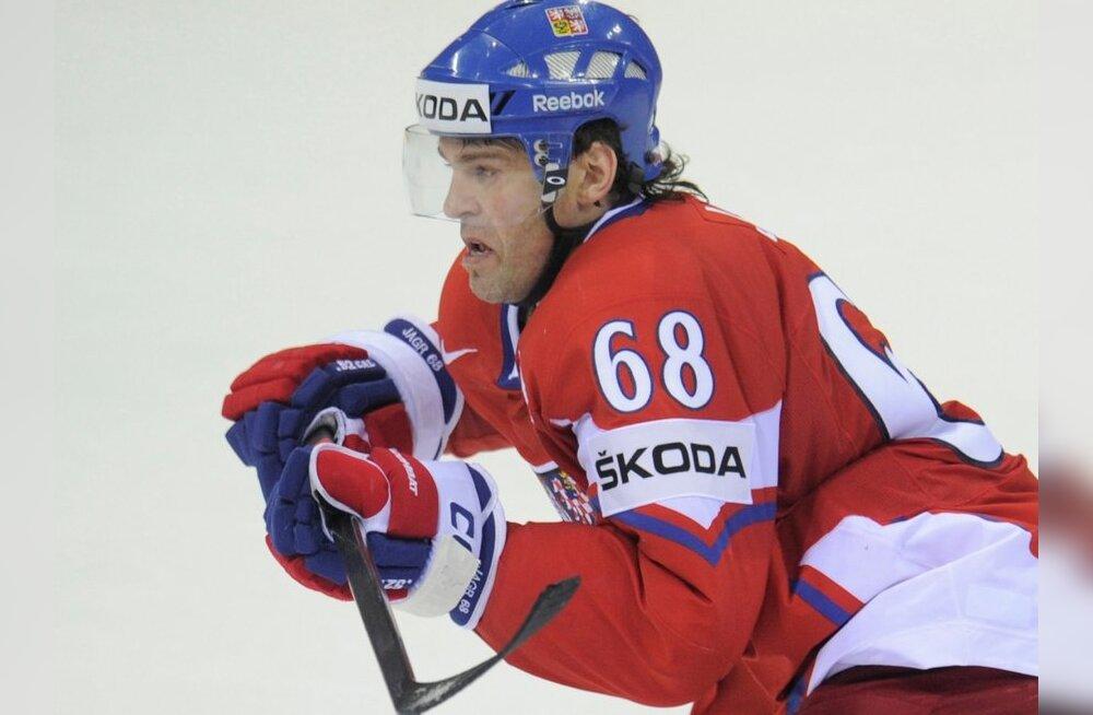 Ягр вновь признан лучшим хоккеистом Чехии