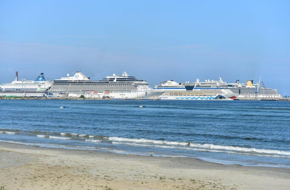 Kruiisilaevad sadamas