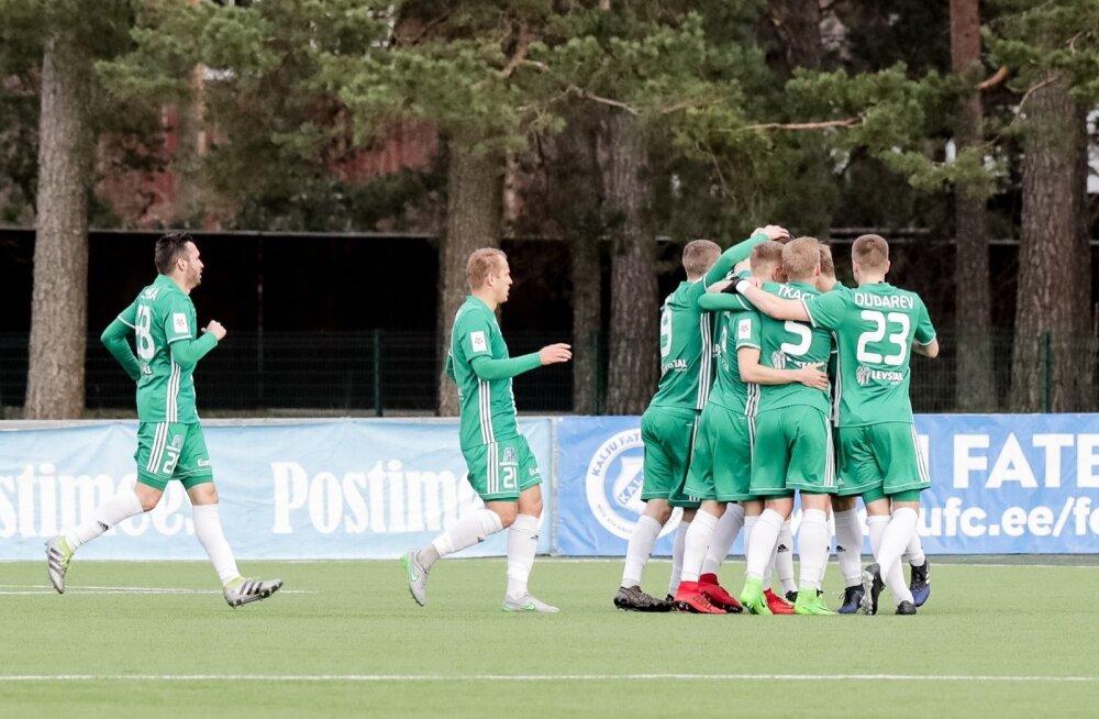 Jalgpall, Nõmme Kalju vs FCI Levadia