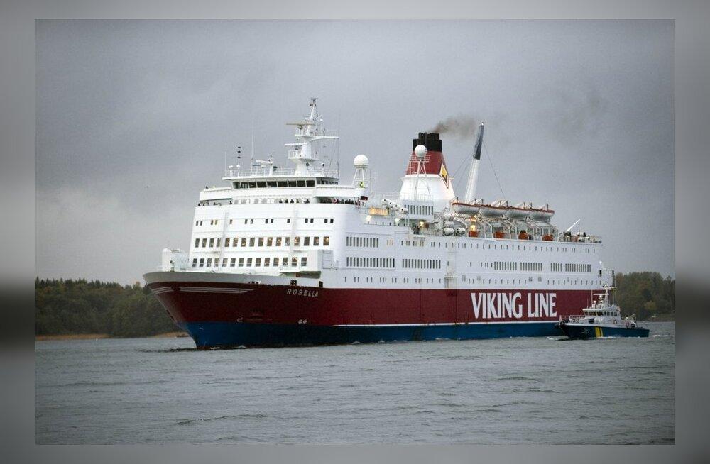 Ametiühing nõuab Viking Line'ilt kahjutasu Eesti lipu alla mineku eest