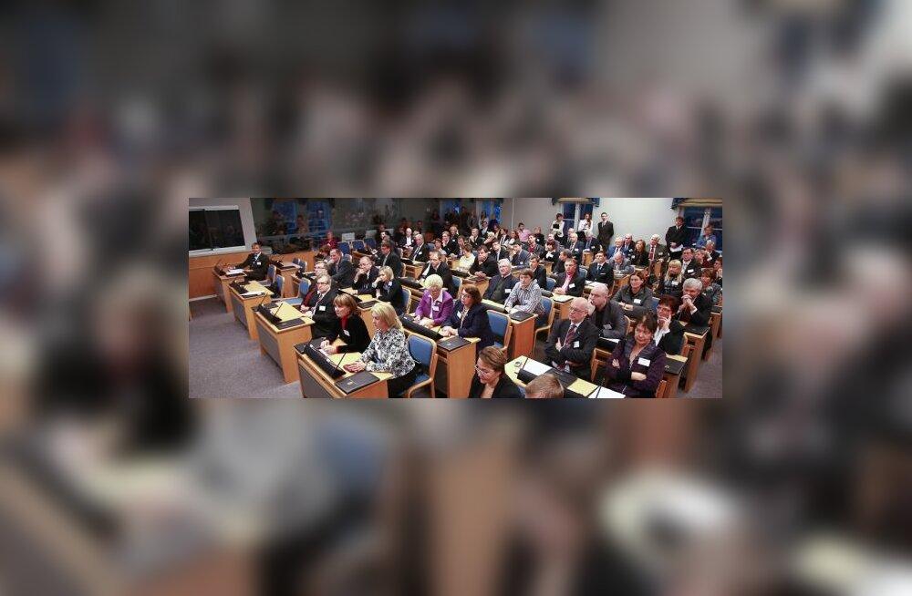 FOTOD: Vitsut ja Saks hääletati ametisse