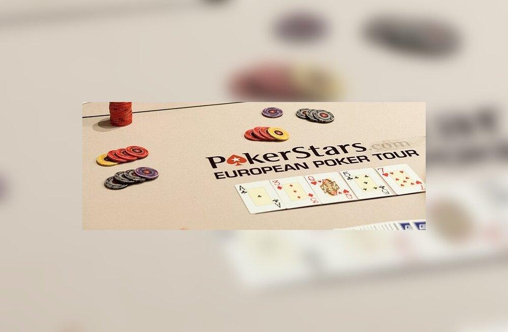 Euroopa pokkeriturnee põhiturniiril jõudsid auhinnarahani kolm Eesti mängijat