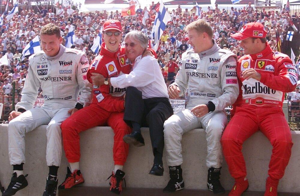 Häkkinen ei tea Schumacheri tervislikku seisundit ega tahagi teada