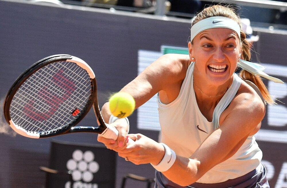 Anett Kontaveidiga samasse tabeliveerandisse loositud maailma kuues reket loobus vigastuse tõttu French Openist
