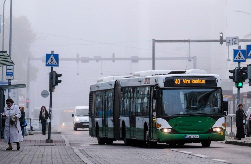 Udu Tallinna kesklinnas