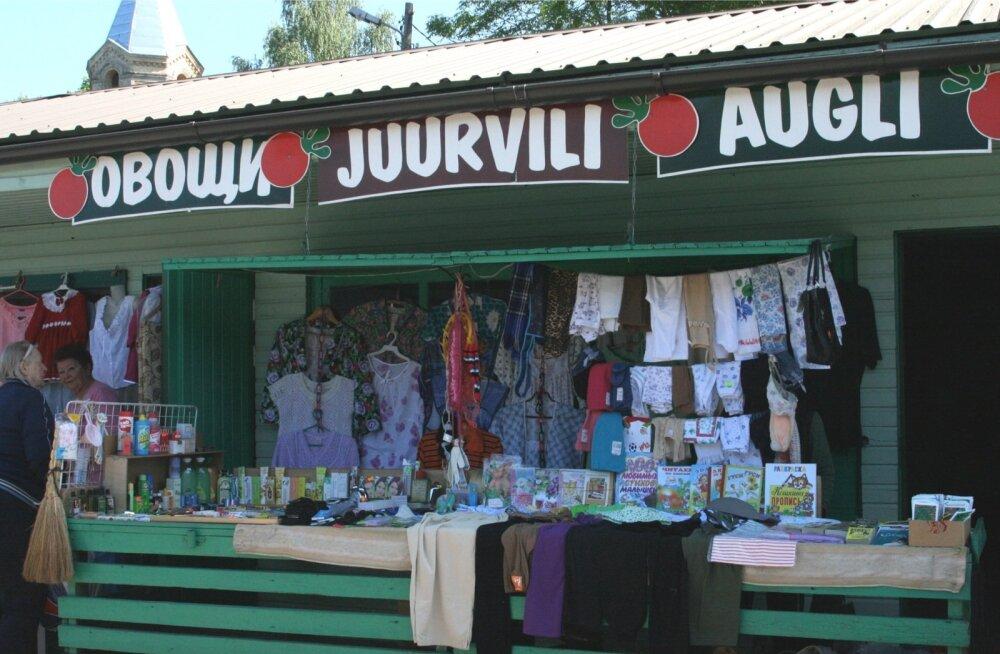 Turg lõunapiiri läheduses