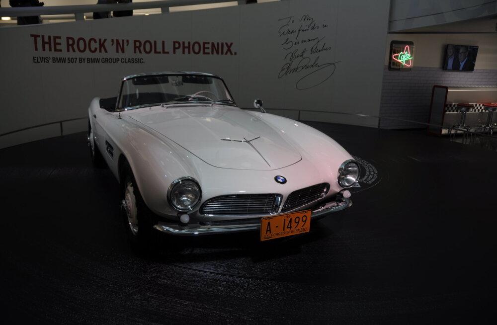 Elvis on surnud. Mis ägeda autoga ta omal ajal Saksamaal sõitis?