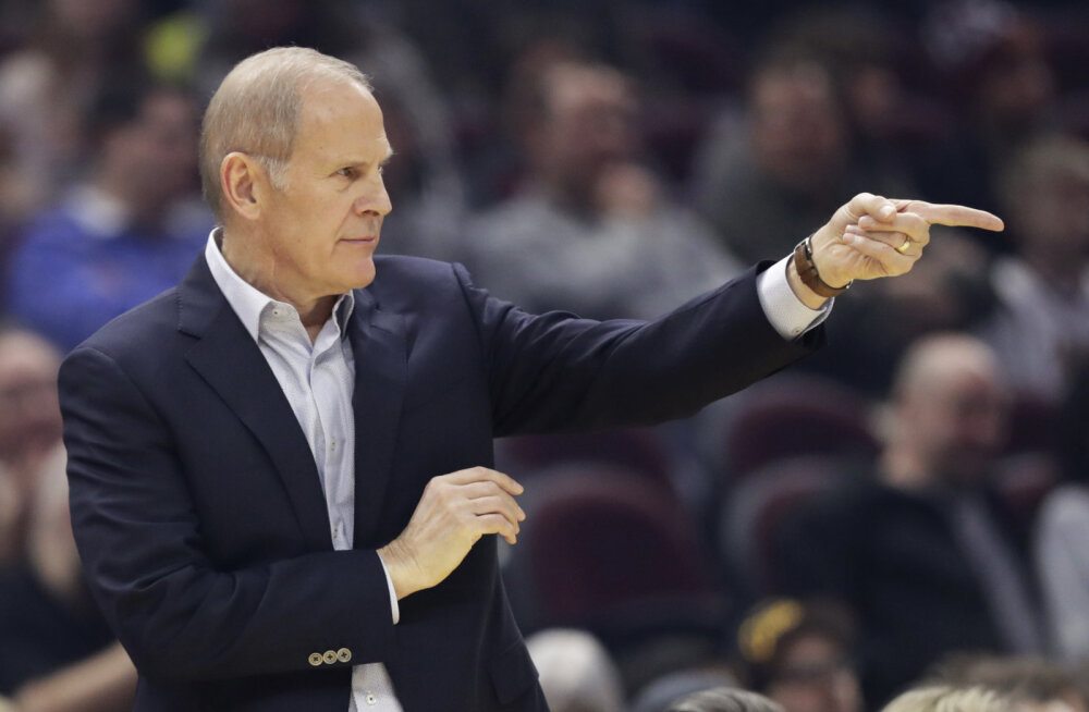 Cleveland Cavaliersi peatreener pani ameti maha