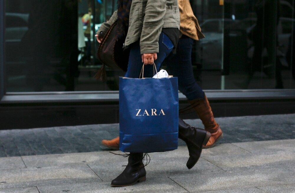 Zara kauplus Madriidis