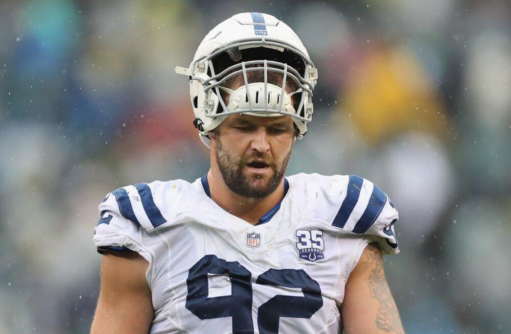 Colts sai hooaja neljanda kaotuse, Margus Hunt vigastas põlve