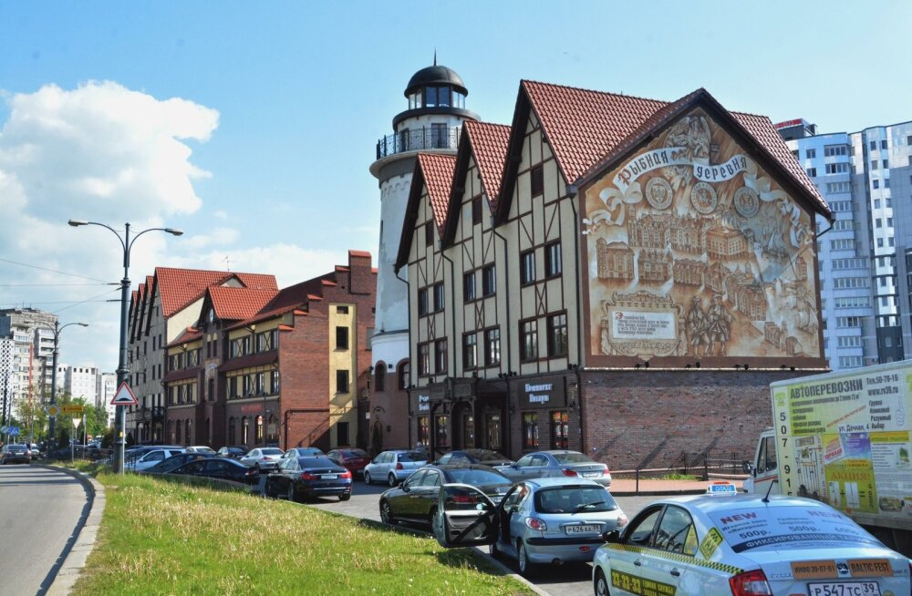 Üksikud jupikesed Ida-Preisimaa aegadest säilinust on ka turistidele mõeldes korda tehtud. Näiteks see endine kaluriküla.