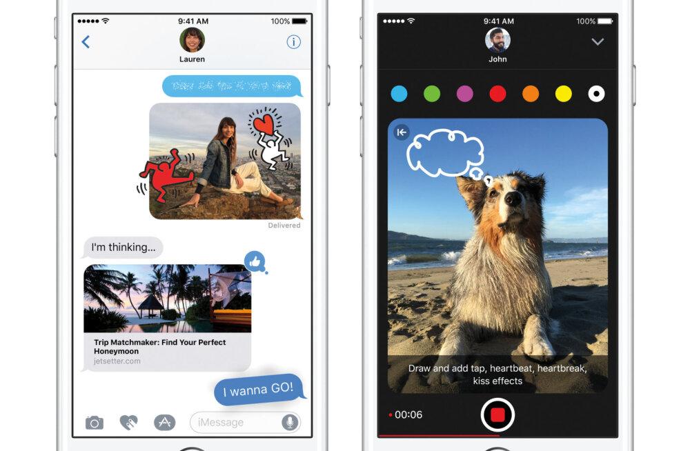 Uss õunas: Apple`i eile välja lastud opsüsteem iOS 10 põhjustas kasutajaile korralikku peavalu ja veateateid
