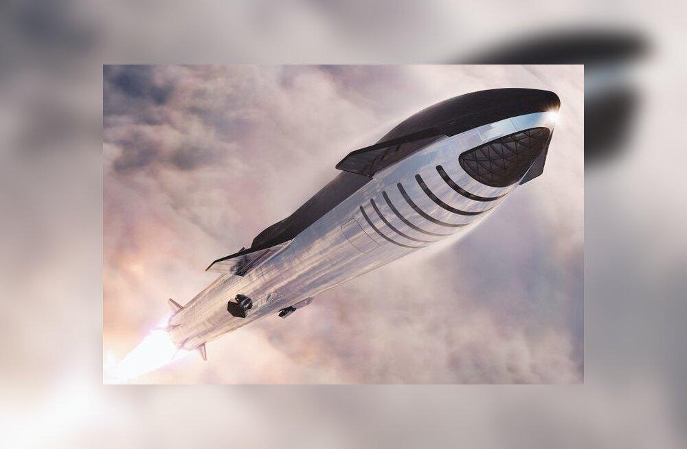 Muski unistus: hiiglaslik kosmoselaev teeb Maa ja Marsi vahel liinilende juba kümnendi keskel