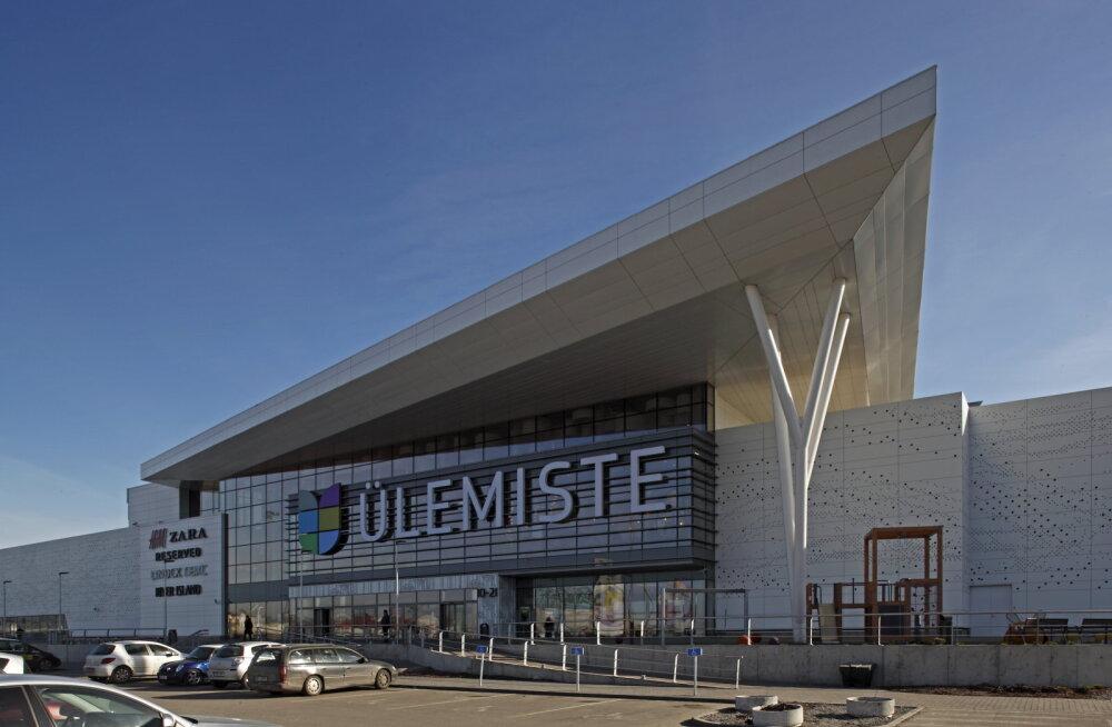 Ülemiste keskus sai Baltimaades esimesena olulise keskkonnasäästlikkuse sertifikaadi