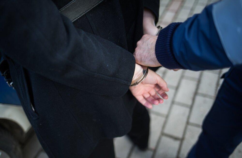 Politsei arreteerib naist