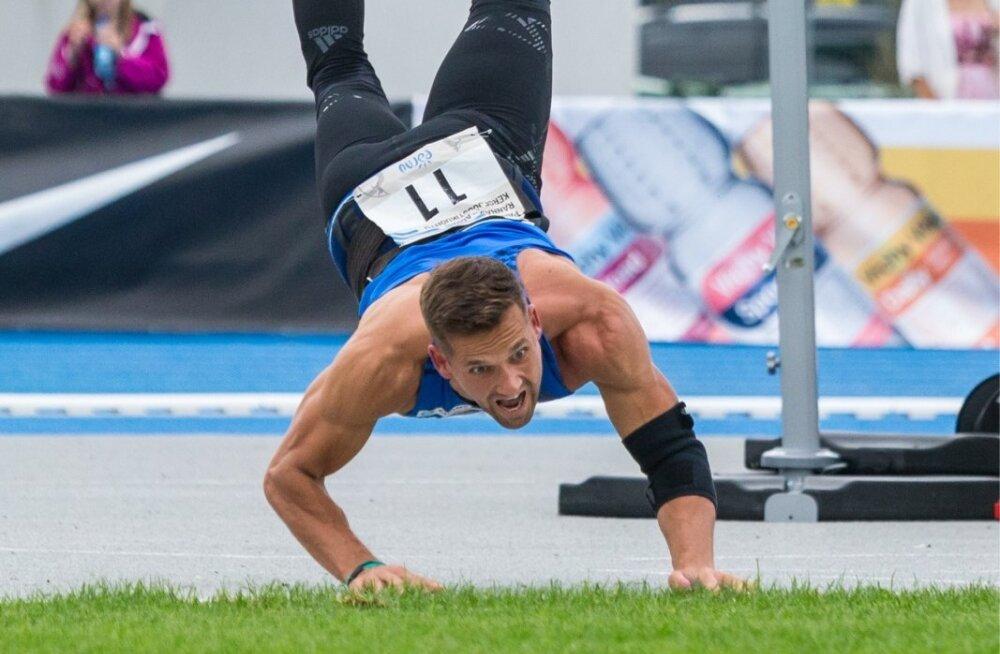 Stabiilselt oda üle 80 meetri viskav Magnus Kirt on Eesti võistkonna üheks trumpkaardiks.