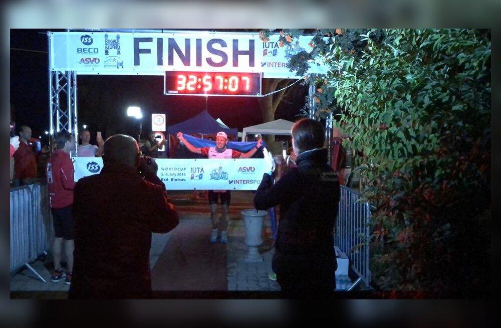 Suurepärane: Rait Ratasepp lõpetas Austrias kolmekordse ultratriatloni kindla võitjana