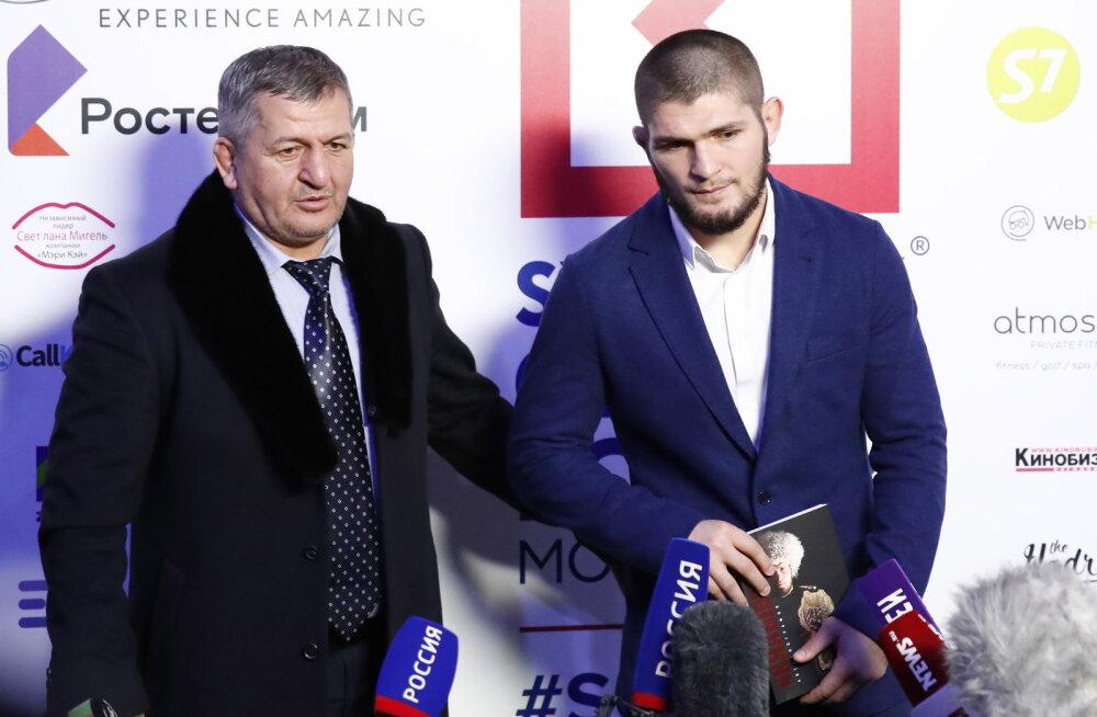 Taas koomast üles ärganud UFC tähe Nurmagomedovi isa on vaikselt paranemas