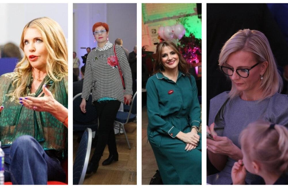 FOTOD | Paljastavad pluusid, julged toonid ja veidrad aksessuaarid ehk kõige värvilisemad külalised valimispidudelt!