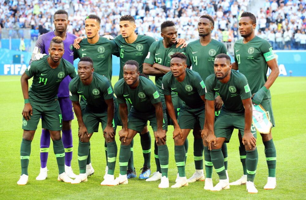 Nigeeria ja Ghana jalgpallikoondised võivad saada mängukeelu