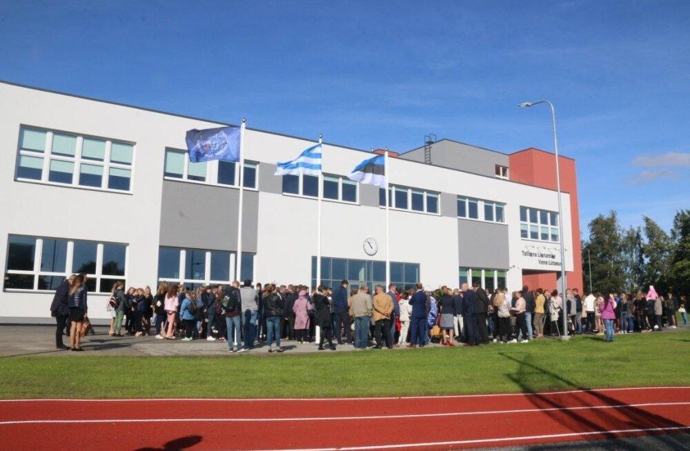 Tallinna Linnamäe Vene Lütseumi uue hoone avamine