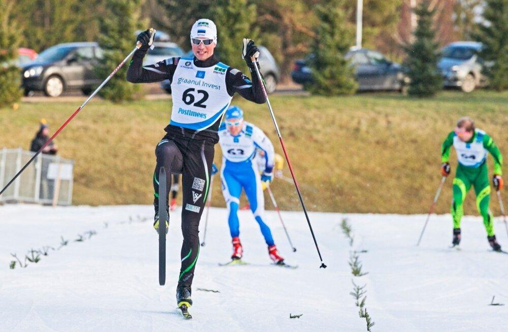 Eesti meistrivõistlused murdmaaasuusatamises 2016 Mammastes (vabatehnika sprint).