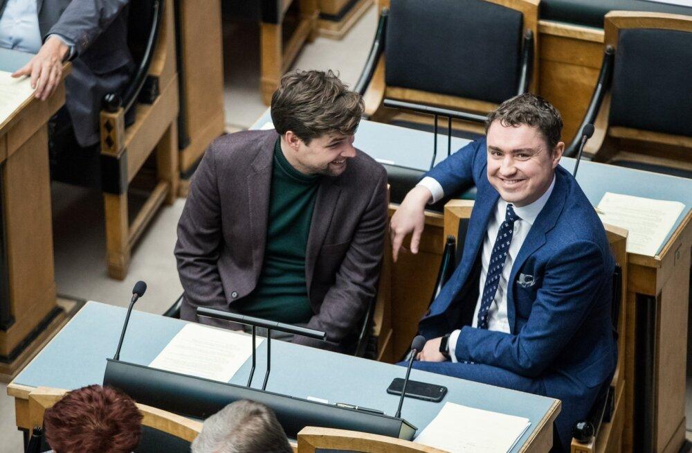 Eesti Vabariigi eelarve kolmas lugemine Riigikogus.