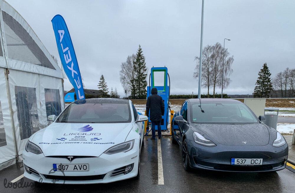 Prognoos: kui palju on Eestis elektriautosid aastal 2020, 2023, 2025?