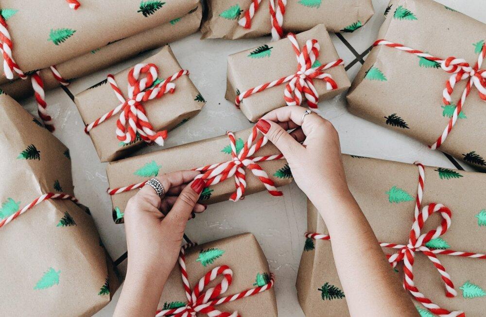 Большинство жителей Эстонии тратят на один рождественский подарок 20-50 евро. А вы?