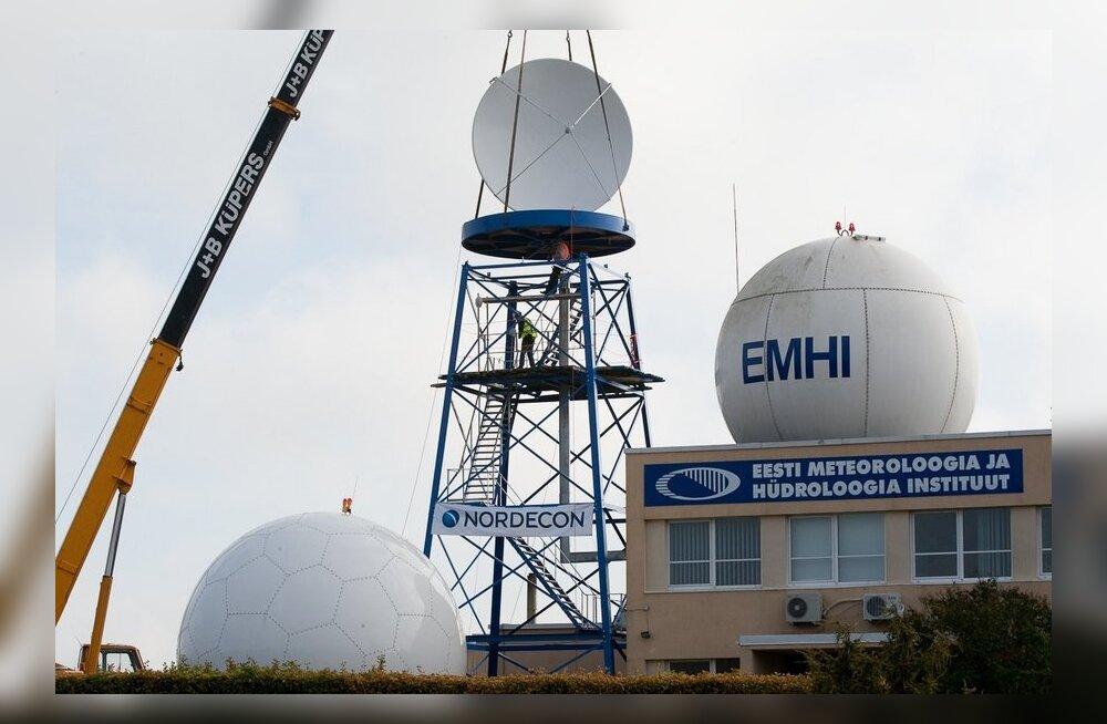 EMHI radari paigaldus