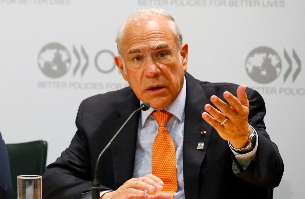 OECD peasekretär Angel Gurria.