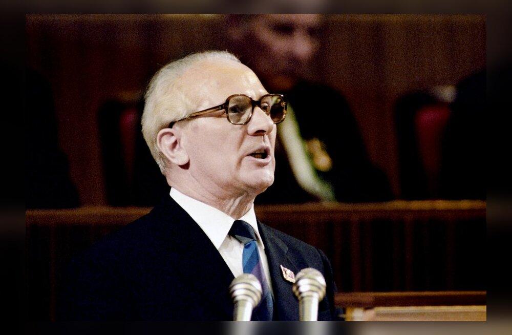 Lääne-Saksa luure: abielupaar Honeckerid pidasid mõlemad armukesi