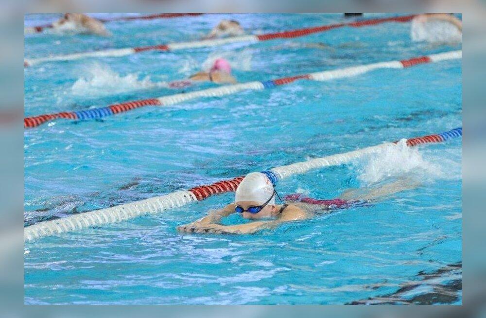 13-aastane Eesti ujuja ületas kaks igivana rekordit