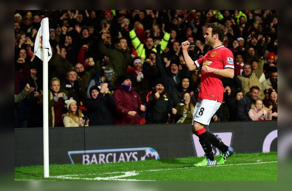 Juan Mata lõi võiduvärava