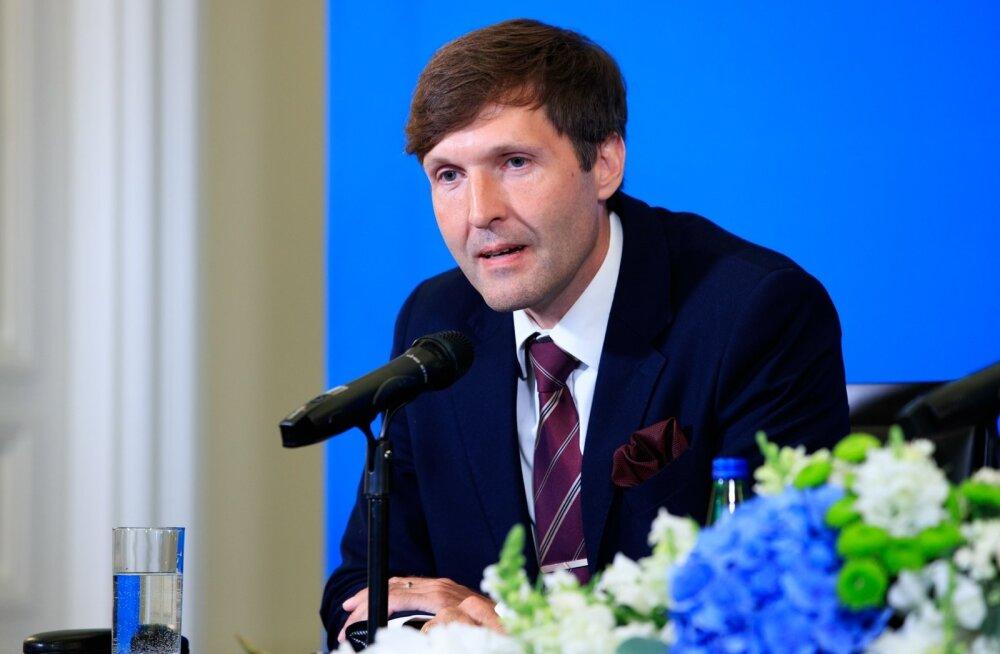 Valitsuse pressikonverents Stenbocki majas 08.08.2019