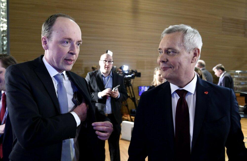 FOTOD | Soome ajalehtede esikülgedel mainitakse valimiste põnevusetendust ja Halla-aho edu