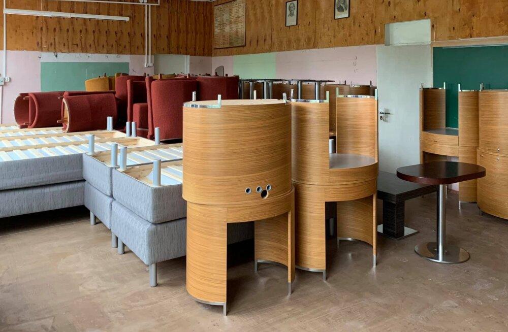 Hea eeskuju: remonti läinud hotelli mööbli ja sisustusega varustati hoolekandeasutusi üle Eesti