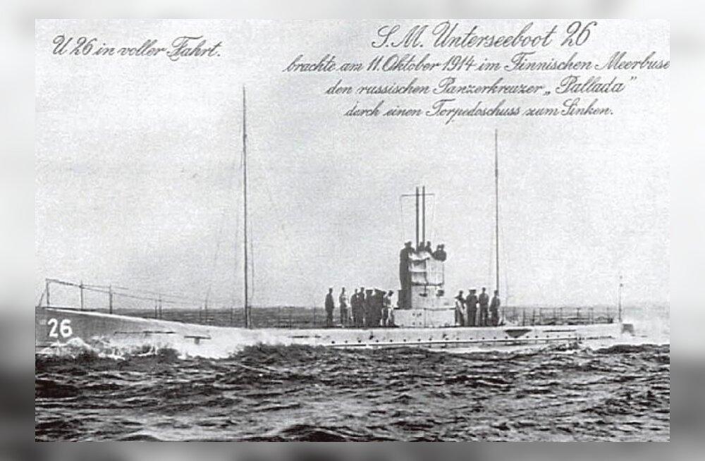 Soome tuukrid sattusid 99 aastat Läänemere põhjas lebanud Saksa allveelaevale