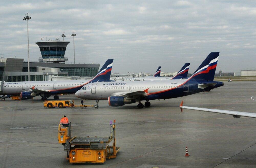 Ukraina keelas Vene lennufirmadele transiitlennud läbi Ukraina õhuruumi