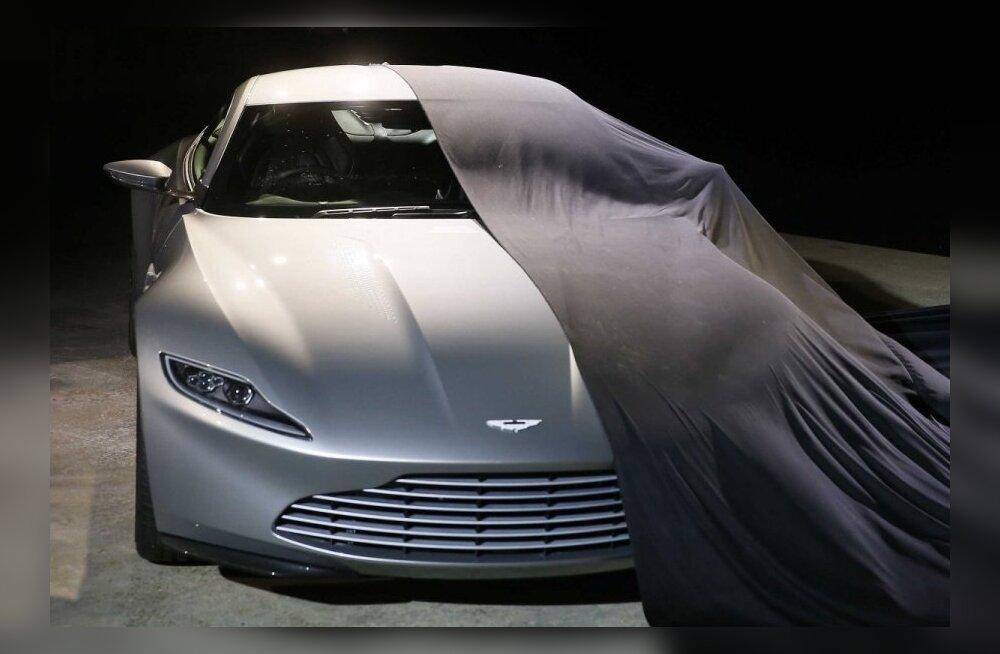 Aston Martin tegi Daniel Craigile spetsiaalselt järgmise Bondi-filmi jaoks uue superauto