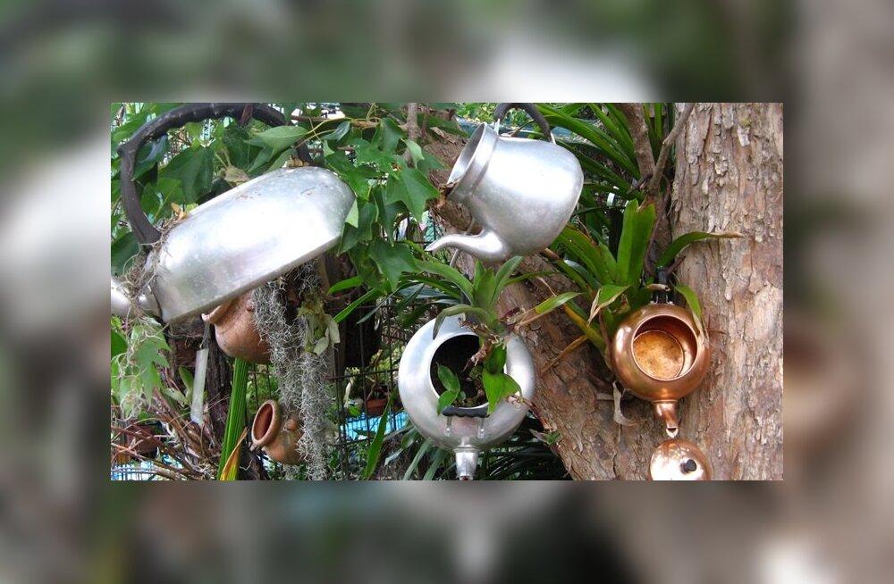 Vanametallist pottide-pannidega valmiv toit sisaldab mürgist pliid, ka arseeni