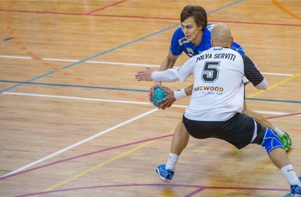 Käsipall. Põlva Serviti - HC Kehra