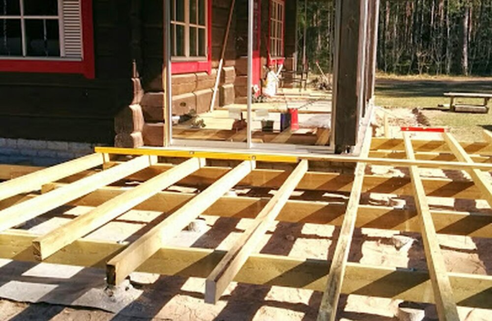 de935053f6a Kuidas ehitada terrassi: karkass, laudis ja hooldamine